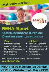 REHA neu in Bad Nauheim und Wöllstadt