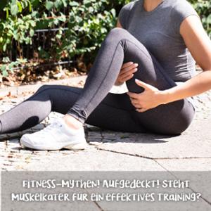#thursdaytipp: Fitness Mythen! Steht Muskelkater für ein effektives Training?