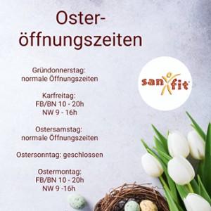 Oster-Öffnungszeiten