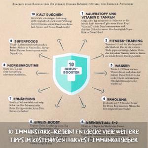 #thursdaytipp: 10 Immunstarkregeln für dein Immunsystem!