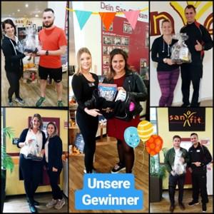 Glückwunsch unseren Gewinnern