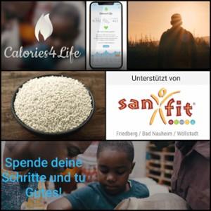 Calories 4 Life - Helfen kann so einfach sein