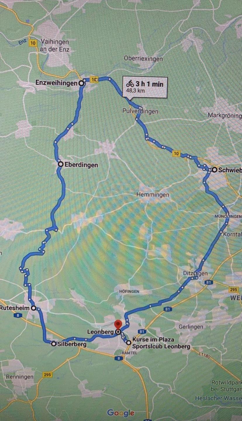 Unsere nächste Cycling-Tour findet am Samstag, 10.7. - 10.30 Uhr statt...